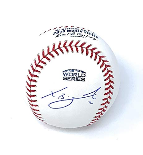 Xander Bogaerts Boston Red Sox Signed Autograph Official WORLD SERIES MLB Baseball MLB Authentic Certified