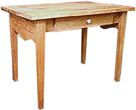 学習机 引き出し付き w98d62h71cm オーク learning desk 勉強机 北欧 木製 ひのき 受注製作