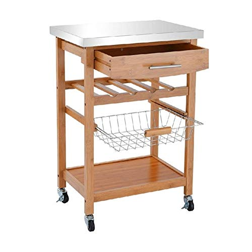 - Trolley Cart Kitchen Drawer Shelf Storage Rolling Rack Basket Shelves Casters Removable Tray Wine Towels Wheels Hooks Hang Functional Cupboard Cabinet Drawers Beautiful Accessories Vase Versatile