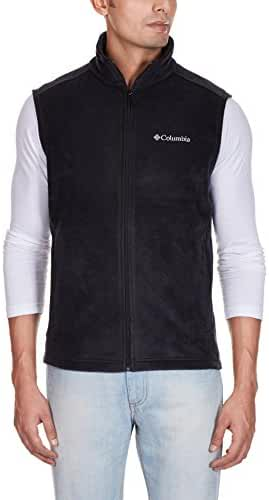 Columbia Men's Cathedral Peak Front-Zip Fleece Vest
