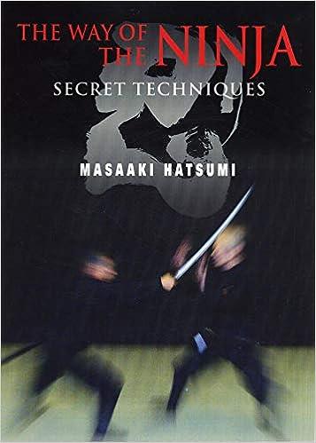 The Way of the Ninja: Secret Techniques: Amazon.es: Masaaki ...