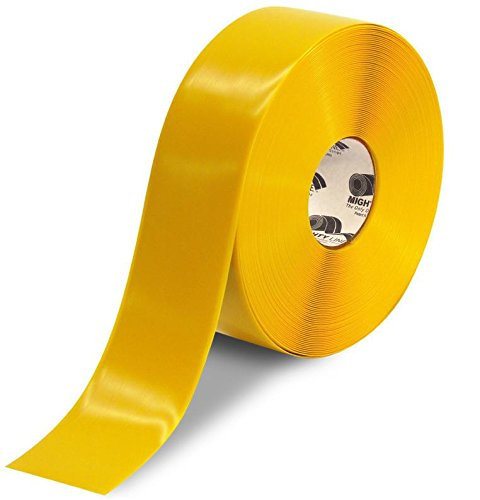 Mighty Line Heavy Duty Floor Tape 3 inch Yellow 100' Roll
