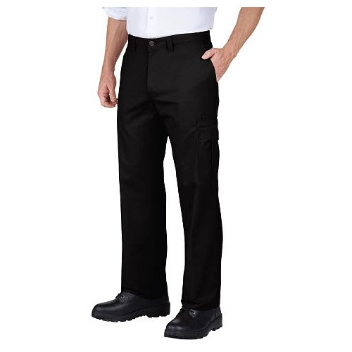 Dickies Occupational Workwear 2112372DC 34x30 Polyester/ Cotton Relaxed Fit Men's Premium Industrial Cargo Pant with Straight Leg, 34
