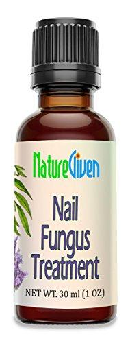 NatureGiven Nail Fungus Treatment All Natural, Tea Tree, Lavendar, Eucalyptus