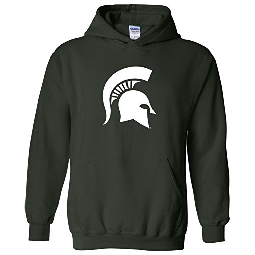 Michigan State Spartans Primary Logo Hoodie - Small - Forest (Primary Logo)