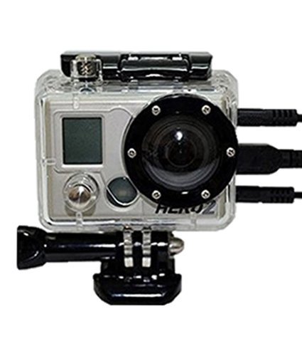 Skeleton Replacement Housing Case for Gopro Hero HD Hero 2