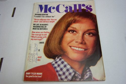 "Mccall's Magazine ""Mary Tyler Moore"" March 1974"