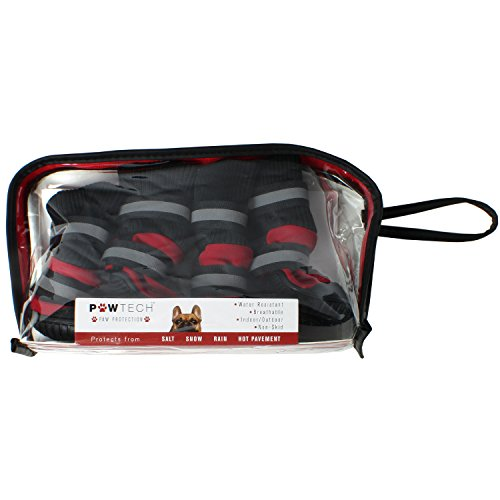 Paw Tech All Weather Dog Boot, Large, Red by American Kennel Club (Image #5)