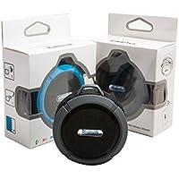 Caixa de Som Bluetooth 3W Portátil Prova D''agua C6 - Kimaster - Preto