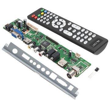 Control Board - Remote Control Board - V56 Universal Tv Controller Driver Board + V56 Baffle Iron Stand (Tv Control Board)