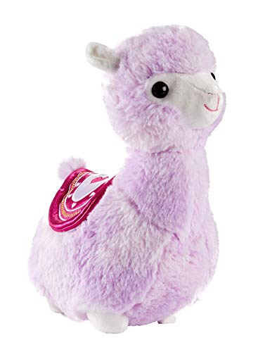 A&T Designs Purple Llama Alpaca Stuffed Animal Plush Doll Toy (Valentine's Day, Birthday, Just Because Gift)