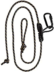 Muddy Safety Harness Lineman's Rope, Black/Or