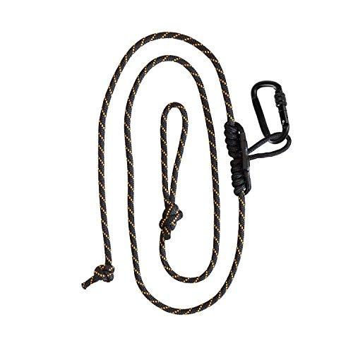 (Muddy Safety Harness Lineman's Rope, Black/Orange)