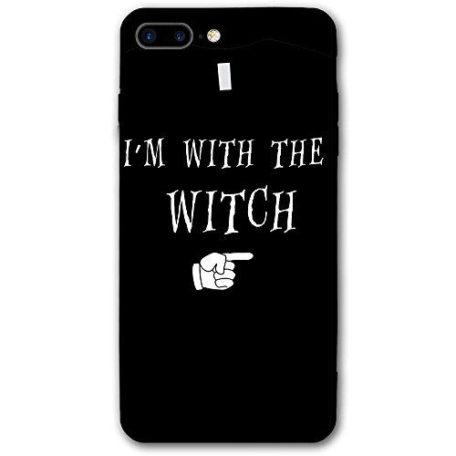 Luxury Cute Strap Phone Case Cover Floral Pattern I'm With The Witch Cell Phone Case For IPhone 7/6/6s/7 Plus/6 Plus/6s Plus (5.5 - I Am How I What Size Know Do