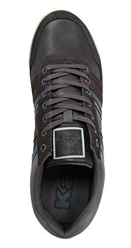 Zapatillas deporte de Hombre KAPPA 302ESK0 DOORWAY 906 DK GREY-SMOCKED