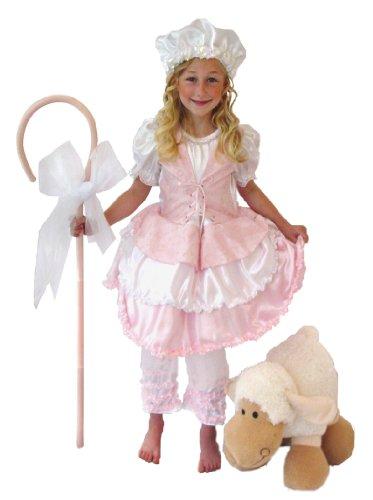 Princess Paradise Kids Pink Little Bo Peep Outfit Girls Halloween Costume Medium
