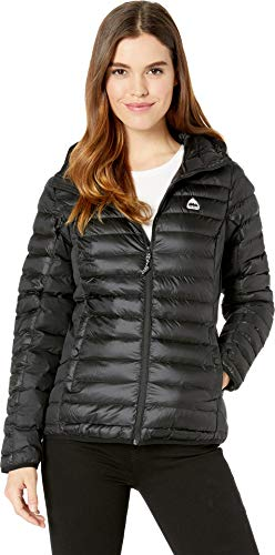 - Burton Women's Evergreen Synth Hooded Insulator Jacket, True Black, X-Large
