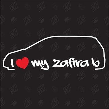 I Love My Opel Zafira B Sticker Bj 05 14 Auto