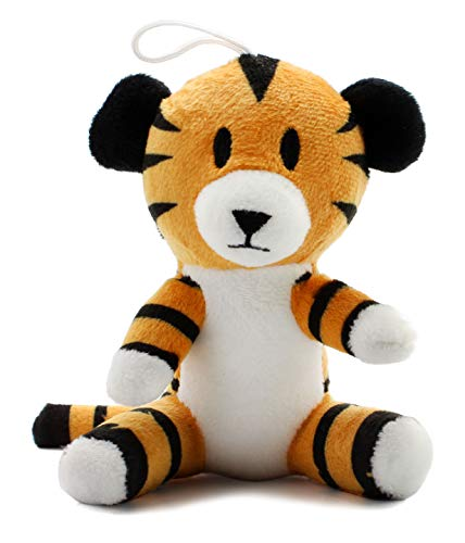 Mini Regit The Tiger Plush, 5-Inch Tall Hanging Stuffed Animal Toy