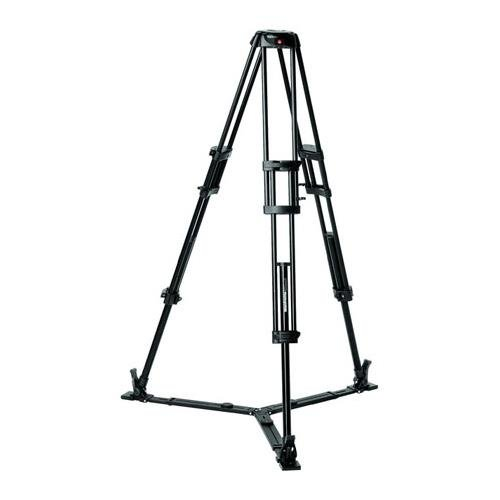 Manfrotto 546GBK Twin Leg Video Tripod with 75mm Bowl (Black) by Manfrotto