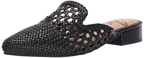 Sam Edelman Women's Clara Mule, Black Leather, 10 M US ()