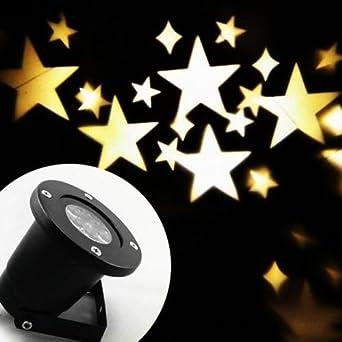 Lampe De Projection LED Clairage Nol Extrieur Tanche HD Effet Tte Phare