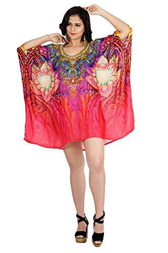 Embellished Kaftan - Silk kaftan Beach wear one Piece/Jeweled/Hand Made/Neck line Embellished Caftan/Crystal Beaded Kaftan Dress 400