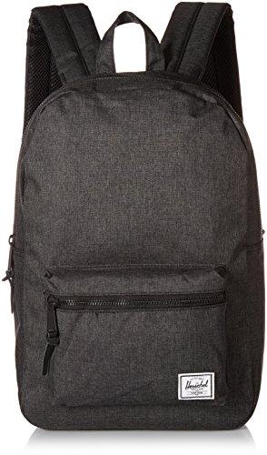 Herschel Settlement Mid-Volume Backpack Black Crosshatch One Size