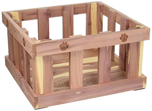 Box Storage Toy Dog (Woodlore Cedar Products Cedar Pet Toy Box)