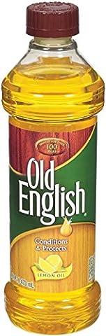Reciprotools Old English Furniture Polish Bottle, Lemon Oil, 16 oz. - Old Wood Furniture