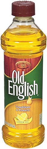 Reciprotools Old English Furniture Polish Bottle, Lemon Oil, 16 oz, Yellow ()