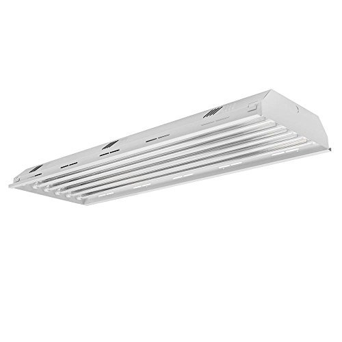 6 Lamp LED High Bay Light 5000K Daylight White, Industrial Grade, Warehouse, Shop, Garage Lighting - UL Listed, DLC - Shop Warehouse