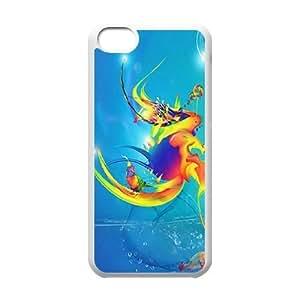 iPhone 5C Phone Case Colorful fish Q3S33W9416