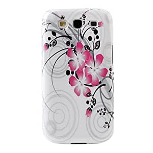 Flower Pattern Hard Case for Samsung Galaxy S3 I9300
