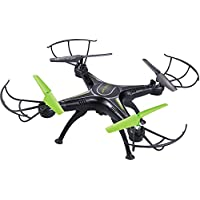 WESTLINK WiFi FPV 2.4Ghz 4CH RC Quadcopter Drone 3MP HD Camera RTF UAV (Black)