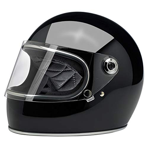 (Biltwell Gringo S ECE Rated Helmet Gloss Black X-Large (More Size and Color Options))