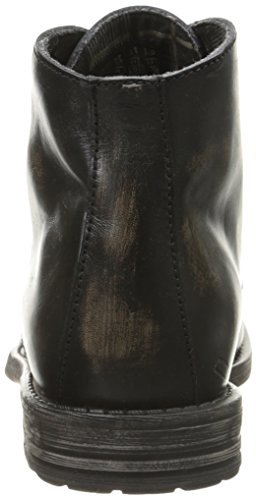 Bed|Stu Mens Hoover Chukka Boot Black Handwash Pmjev
