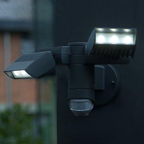 Eco Light Wandleuchte, Strahler LED, Aluminium, 20 W, Anthrazit