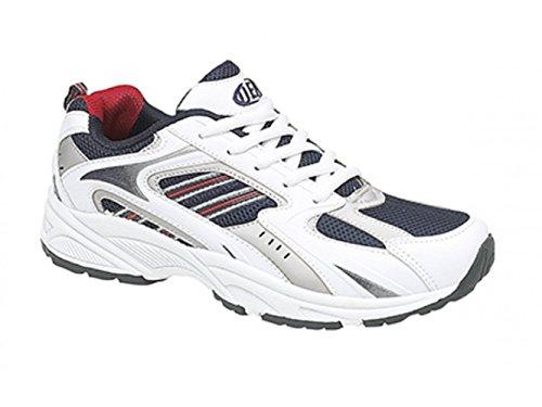 décontractées sport DEK pour Uni Royaume à VENUS de hommes lacets noir 9 III Chaussures wxSqXH