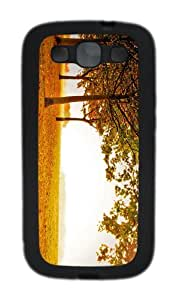 covers cool Sunny Autumn Landscape TPU Black case/cover for Samsung Galaxy S3 I9300