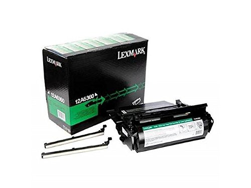 LEXMARK 12A6360 - BLACK PRINT CARTRIDGE FOR T62X