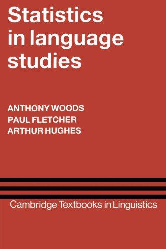 Statistics in Language Studies (Cambridge Textbooks in Linguistics)