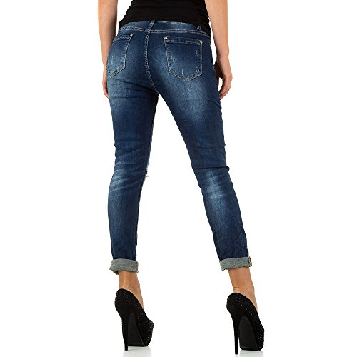 Skinny Femme Bleu Jeans iTaL dESiGn tpqPaEEx
