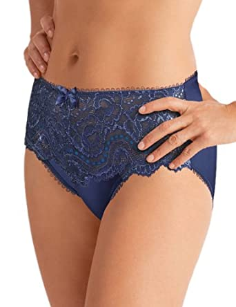 Playtex Flower Lace Brief Women s Knickers Blue Small  Amazon.co.uk ... f7d345874