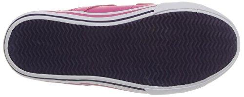 Le Coq Sportif Saint Malo Syn Ps Strap - Zapatillas de Deporte de material sintético Infantil Rosa - Rose (Magenta)