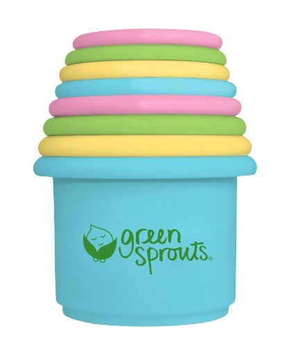 green sprouts Stacking Cups, 8 Count by green sprouts
