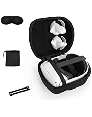 Case for Oculus Quest 2 with Elite Strap ,Travel Case Protective Cover Storage Bag