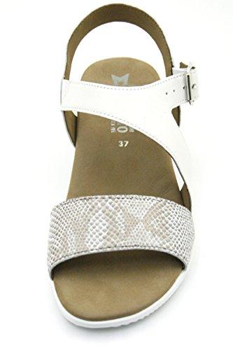 Camel Nu FIDJI Sandales pieds MEPHISTO Femme q0vRCw