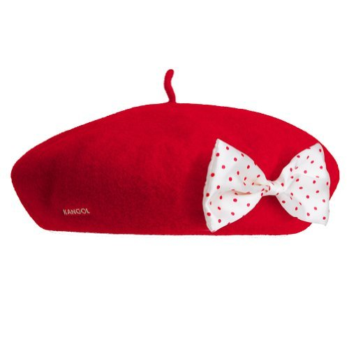 Kangol Women's Disney Anglobasque Beret Medium Red