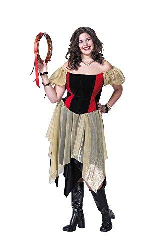 Gypsy Xl Adult Womens Costume (Sexy Gypsy Costumes)